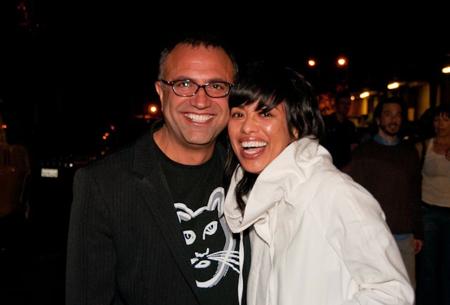 Hossein Farmani and Cat Jimenez, MOPLA Producers